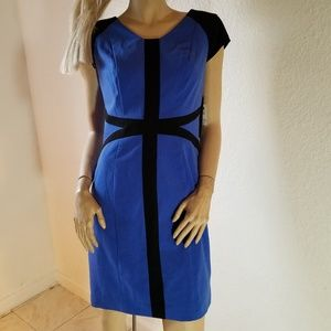 Andrew marc blue dress 10